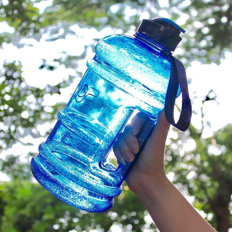 Water Bottle Quarter Prank: SOCOO 2 Litre Water Bottle Tritan BPA Free Durable